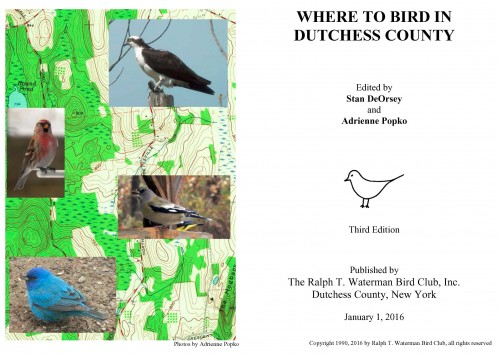 Where to Bird in DC cover